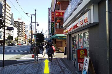 地下鉄門前仲町駅からのルート1