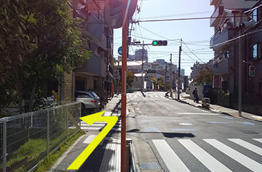 地下鉄門前仲町駅からのルート5