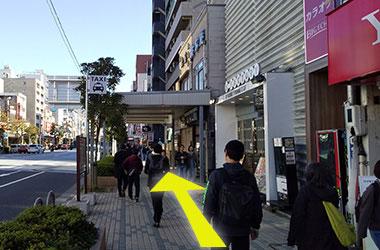 大江戸線門前仲町駅からのルート3