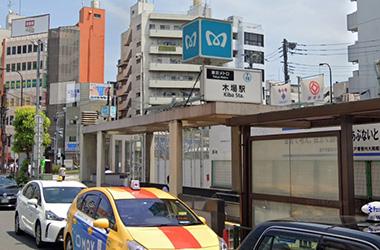 東西線木場駅からのルート1