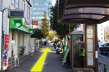 東西線木場駅からのルート2